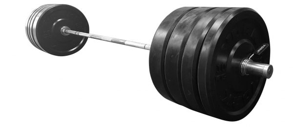 Rubber training bumper plate set metric york barbell