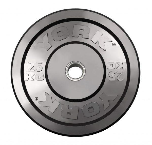 Bumper Plate - Black, Metric (kg)