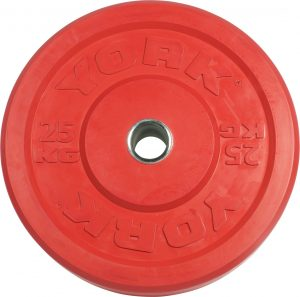 Color Bumper Weight Plate - York Barbell