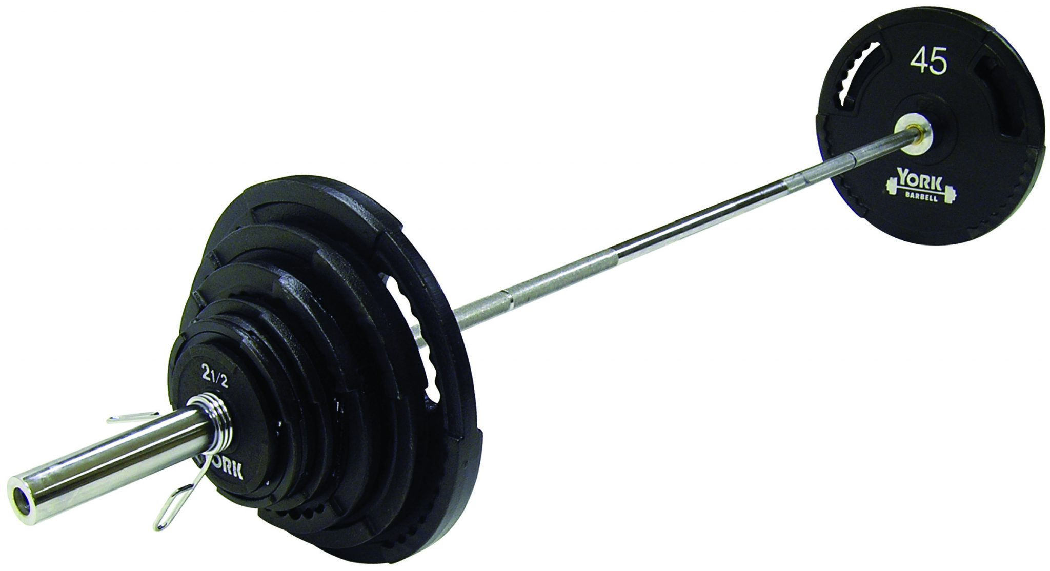 G-2 Cast Iron Olympic Plate Set - York Barbell