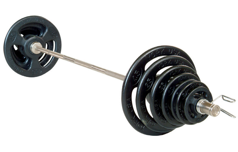 Iso-Grip Steel Olympic Plate Set - York Barbell