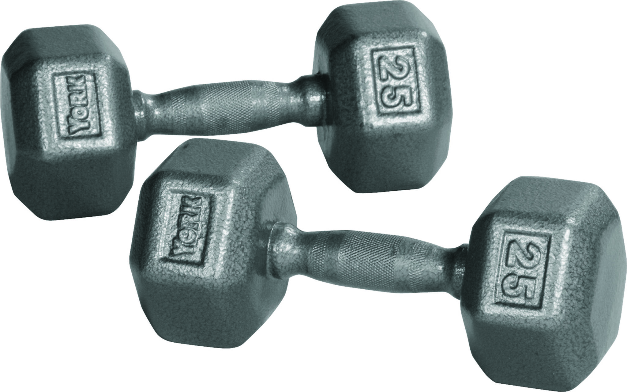 Iron Pro Hex Dumbbells - York Barbell