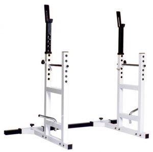 Squat Rack With Barbell Support