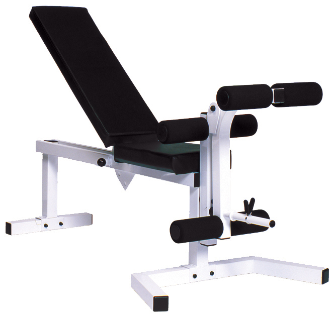 Adjustable Bench Press with leg curl