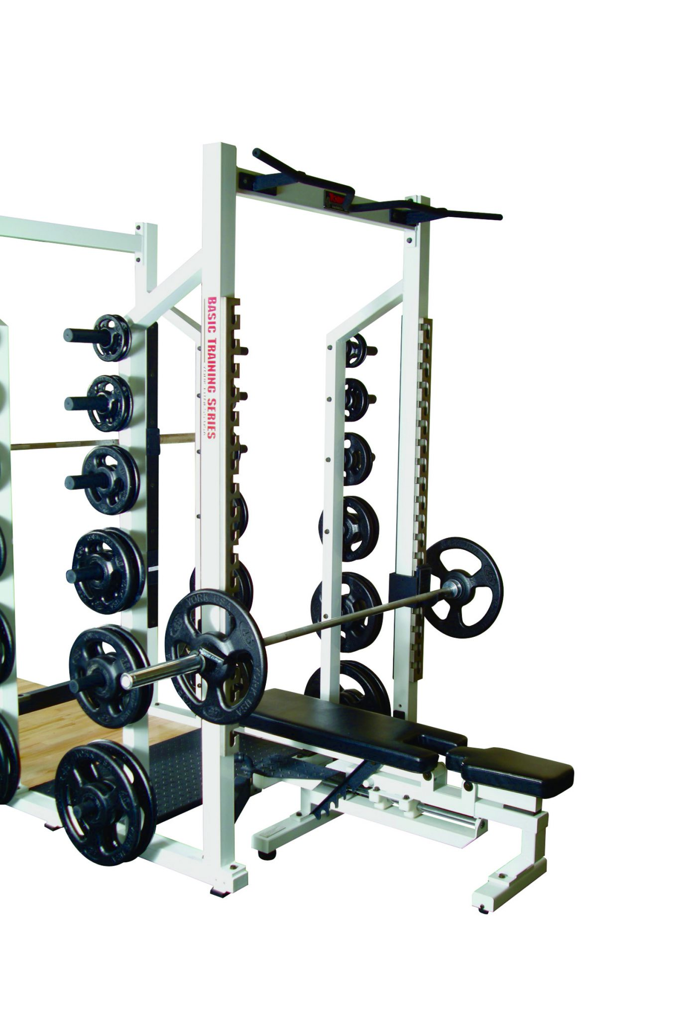 york barbell weight. sts double half rack york barbell weight