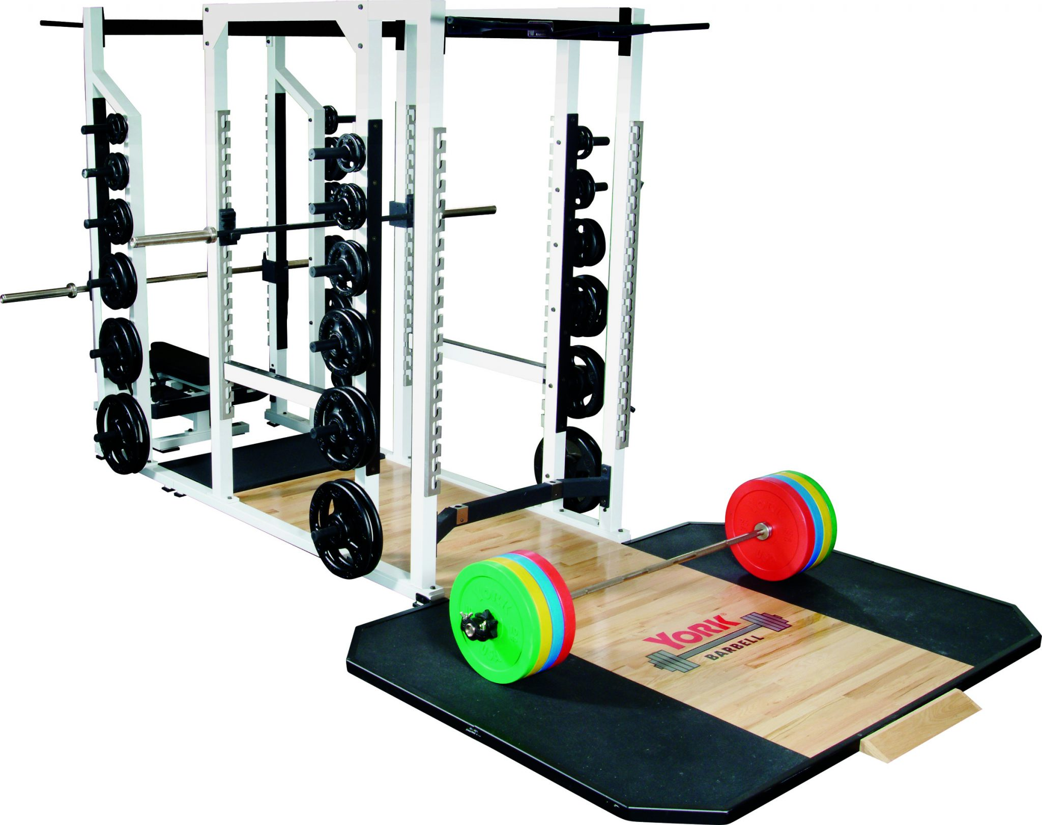 Power Rack | Squat Rack | York Barbell