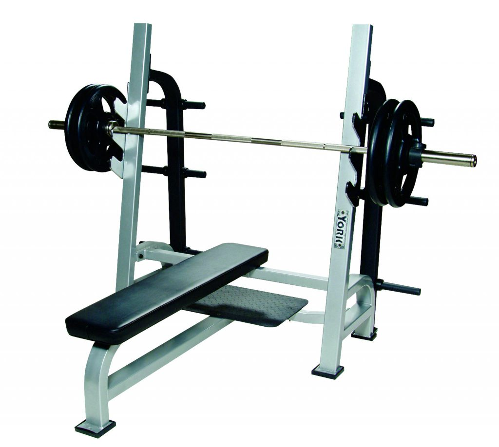 Is Flat Bench Press Good Or Not: STS Olympic Flat Bench W/ Gun Racks