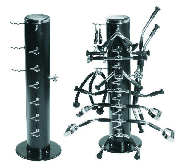 Vertical Machine Bar Rack | Gym Equipment Storage | York Barbell