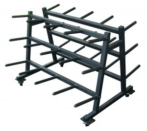 Mobile Aerobic Set Rack