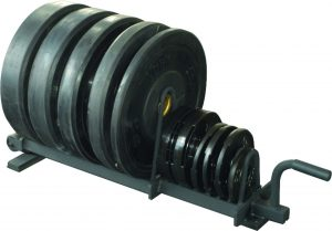 Horizontal Weight Plate Rack | Weight Plate Storage