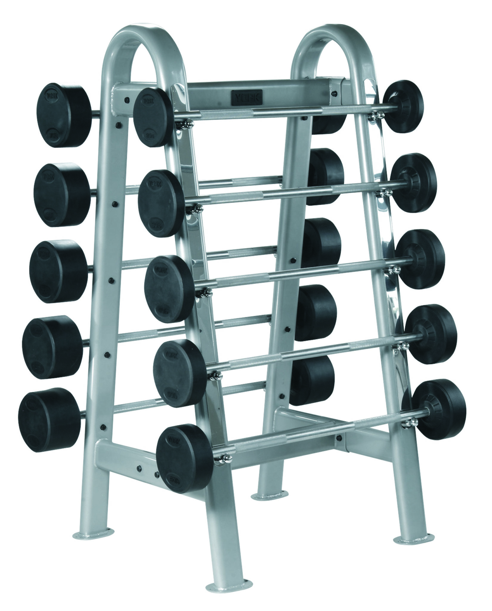 Fixed Straight And Curl Barbell Rack