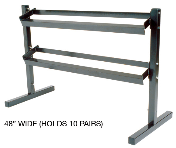 2 Tier Dumbbell Stand and rack from York Barbell