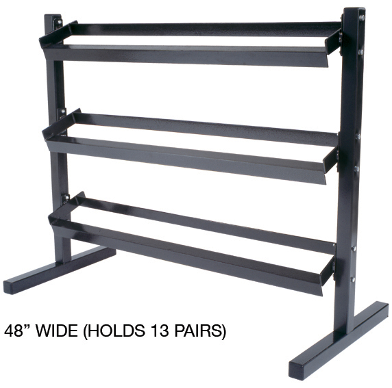 3 Tier Dumbbell Stand | Dumbbell Storage Racks