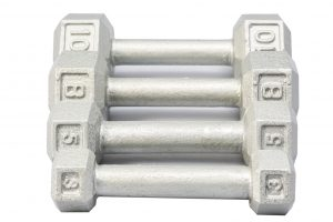 Cast Iron Hex Dumbbells - York Barbell