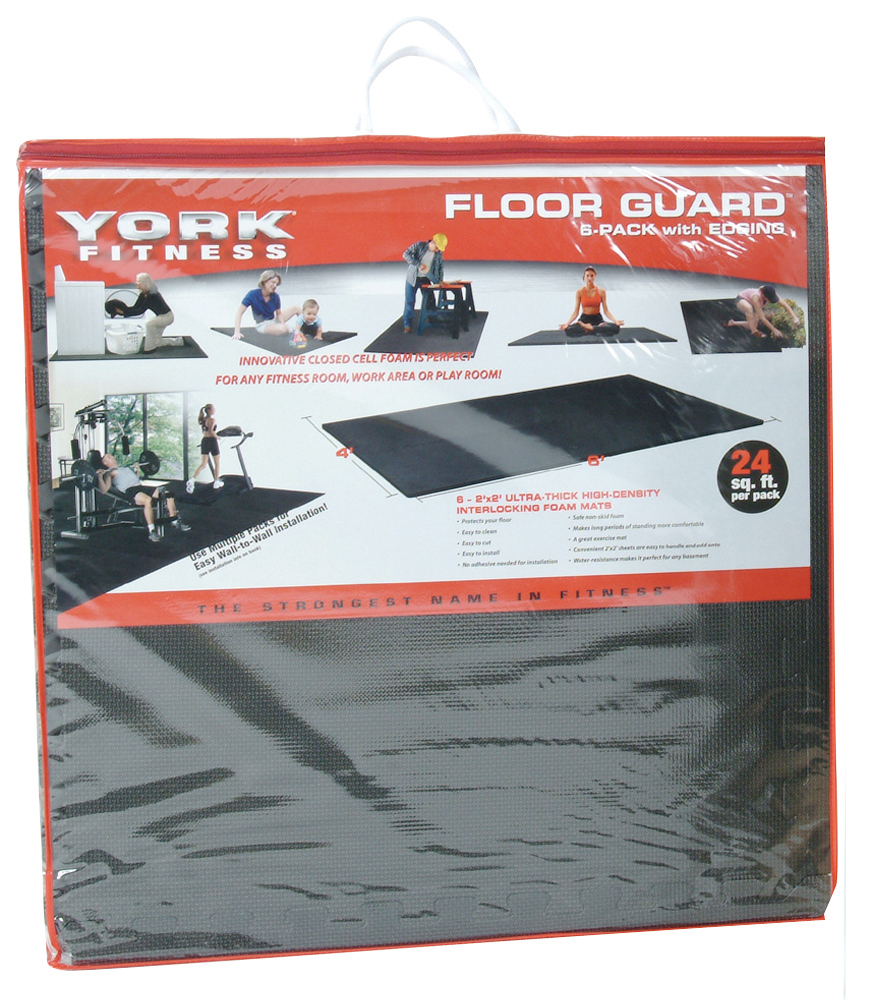 Floorguards (Pack of 4) | Gym Equipment | York Barbell