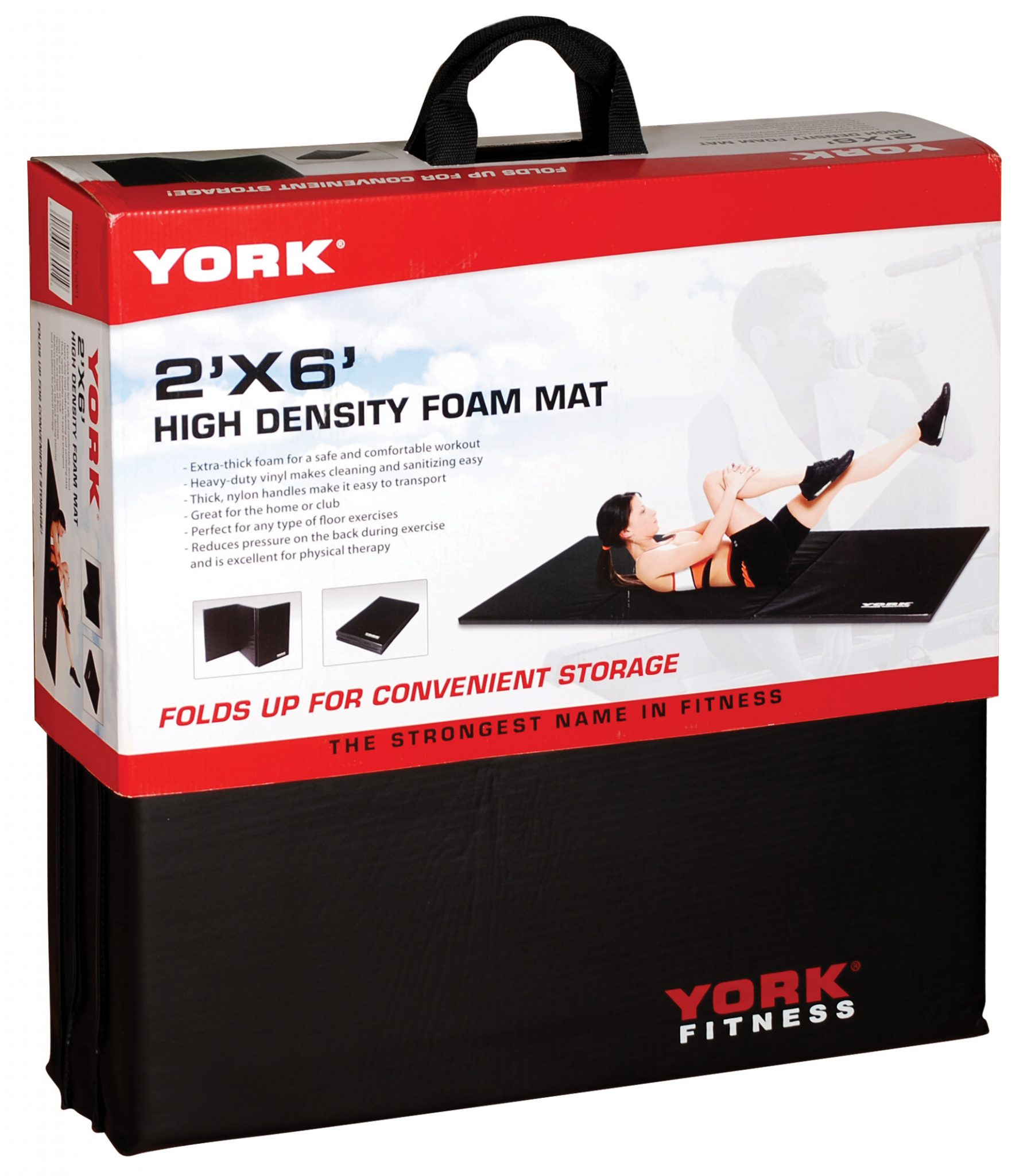 Ultimate Folding Exercise Mat | Weight Lifting Accessories