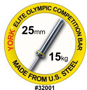 Women's Elite Olympic Competition Weight Bar