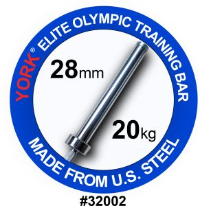 Men's Elite Olympic Training Weight Bar