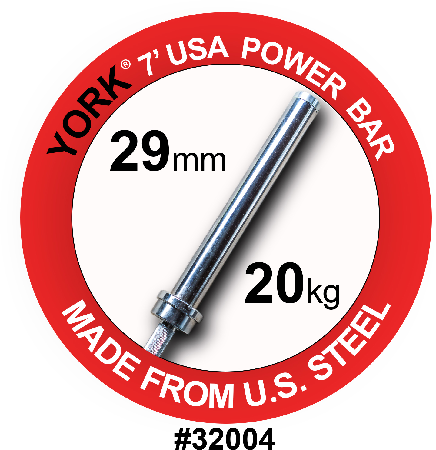 7' USA Power Weight Bar