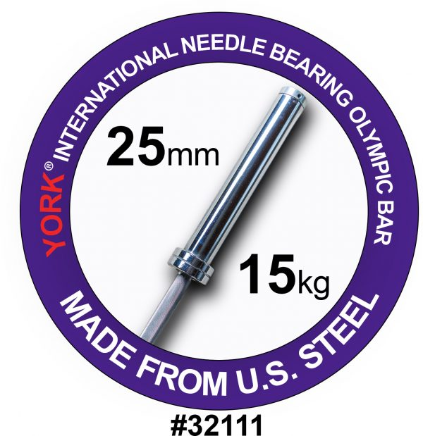 Women's North American Chrome Olympic Training Weight Bar