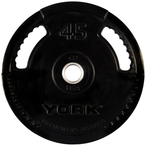G-2 Rubber Olympic Weight Plate - York Barbell