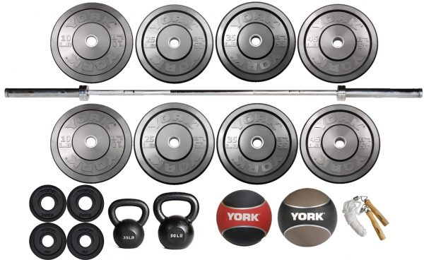 Garage Gym Starter Package - York Barbell