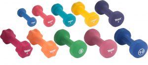 Neoprene Fitbell (Multi-Color)
