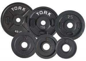 "2"" Calibrated Olympic Weight Plates"
