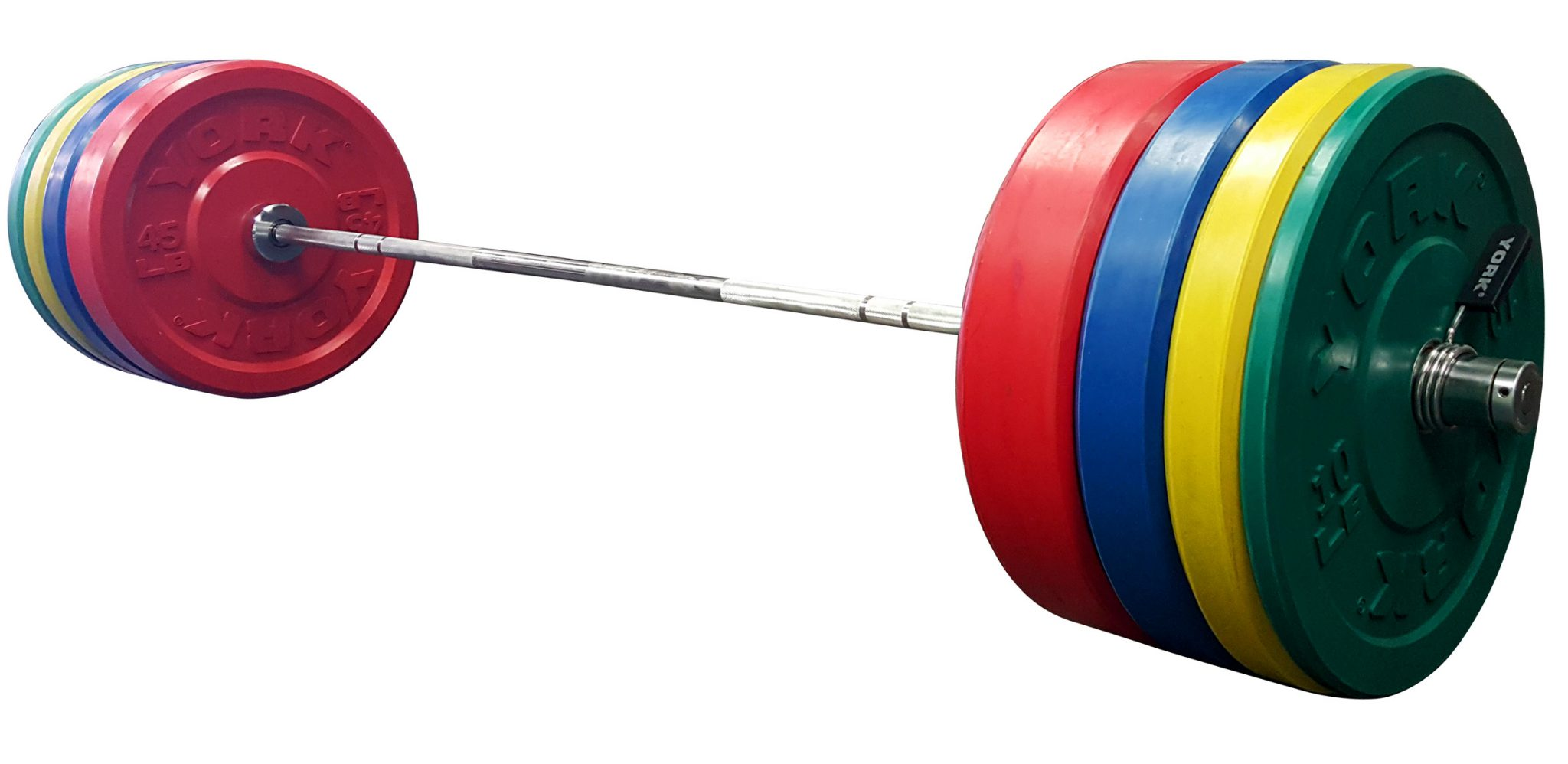 Rubber Bumper Plates Set - York Barbell
