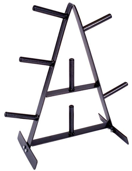 "1"" Weight Plate Stand | Gym Equipment Storage"