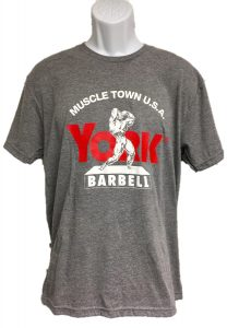 Muscle Town USA Tee - Heathered Grey