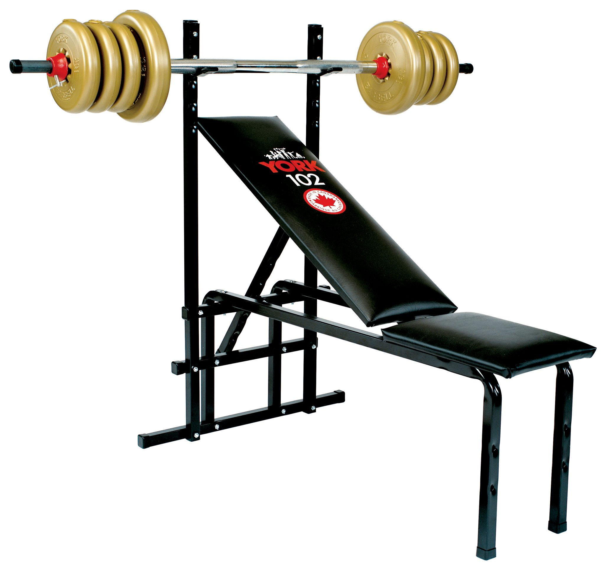 102 Adjustable Bench Press Machine | Home Gym Equipment