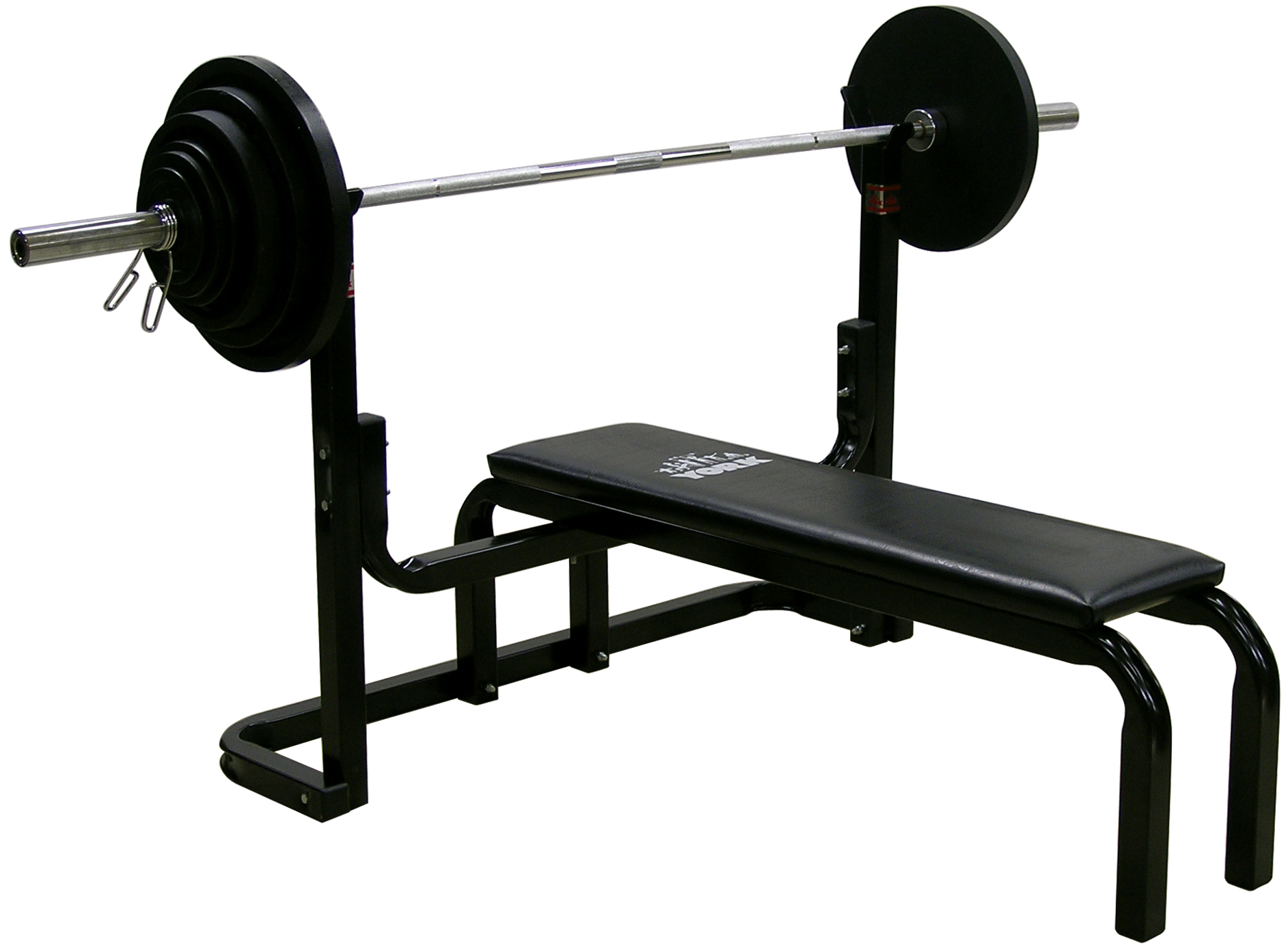 york barbell. 9201 power lifting bench press | equipment york barbell k