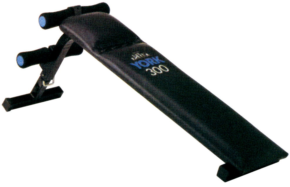 YORK 300 Slant Board | Decline Bench Press & Ab Board