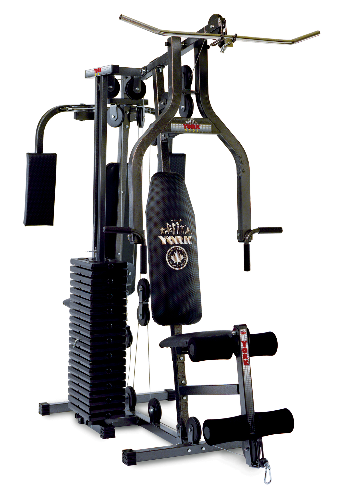 Power max home gym equipment york barbell