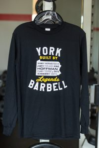 Black Legends Long Sleeve Shirt | Gym Apparel & Clothing | York Barbell