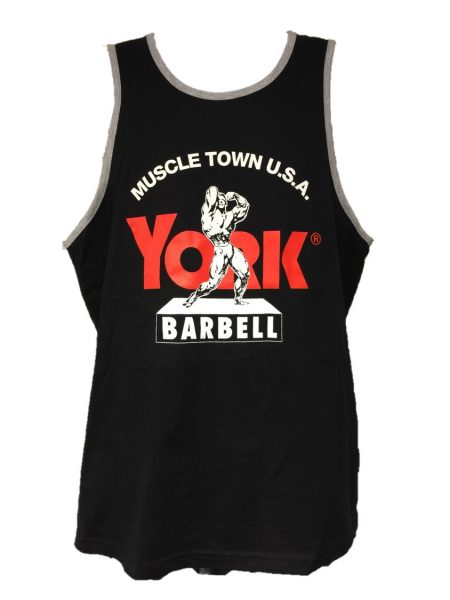 Muscletown Tank Top-Black
