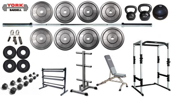York Gold Package - Home Gym Equipment