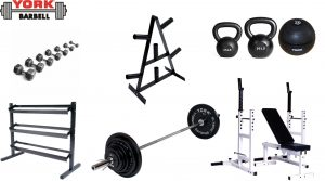 York Silver Package | Gym Equipment Sets