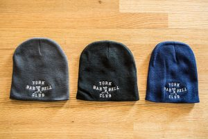 York Barbell Club Knit Cap | Gym Apparel & Clothing | York Barbell