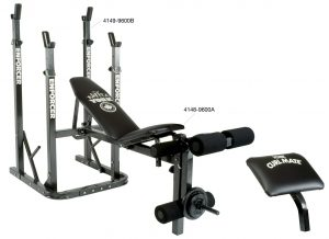 York Enforcer 9600 A Bench | Home Gym Equipment