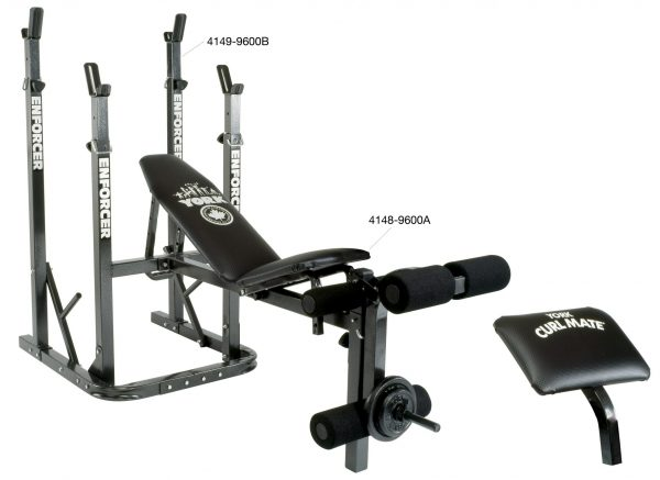 York Enforcer 9600 A Bench | Home Gym Equipment