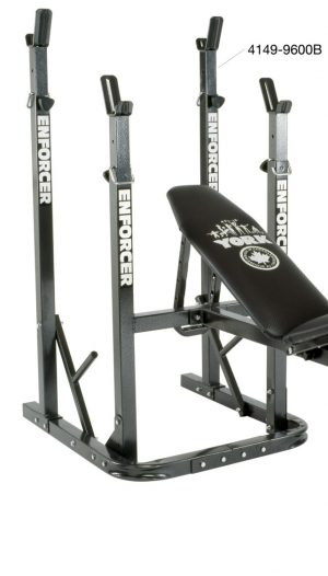 York Enforcer 9600 B Squat Rack only for use with 9600 A Bench