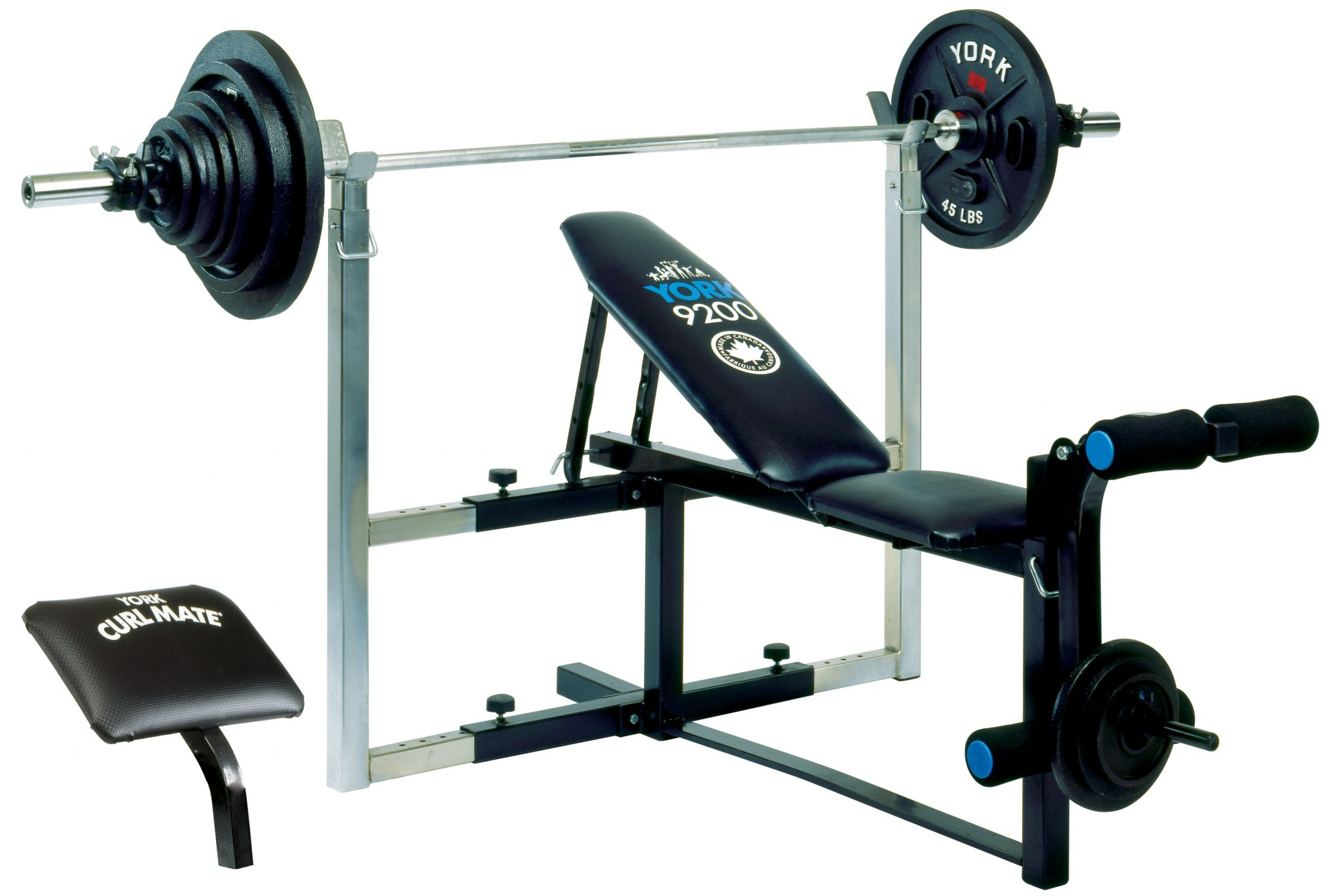 York Barbell 9200 Expandable Bench | Home Gym Equipment