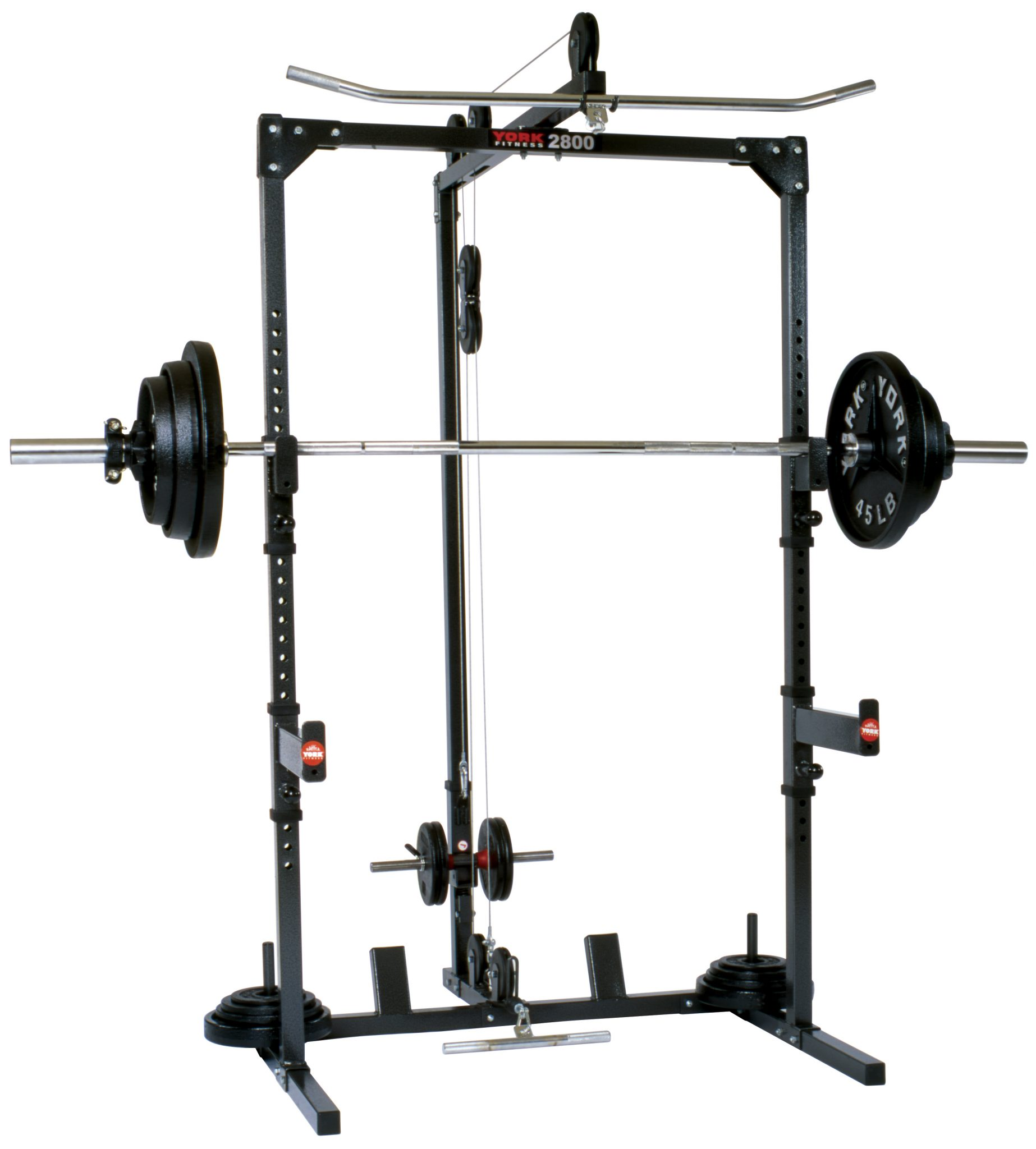 York power cage barbell