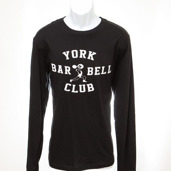 York Barbell Club Long Sleeve Shirt - Black