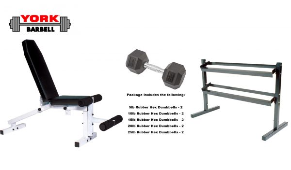 Beginner/Advanced Dumbbell Package