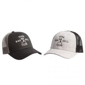 York Barbell Club Trucker Hats