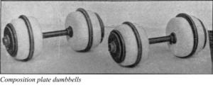 Plate Dumbbells
