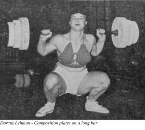 Dorcus Lehman - Composition Plates on a long bar